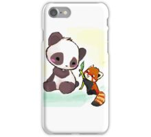 Cute Pandas  iPhone Case/Skin
