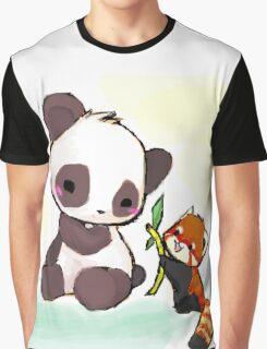 Cute Pandas  Graphic T-Shirt