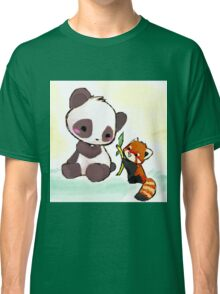 Cute Pandas  Classic T-Shirt