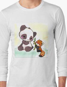Cute Pandas  Long Sleeve T-Shirt
