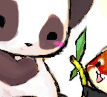 Cute Pandas  Sticker