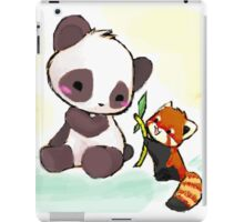 Cute Pandas  iPad Case/Skin