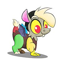 Baby Discord (My Little Pony: Friendship is Magic) Photographic Print