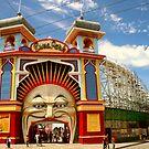 Luna Park Melbourne by Michael Matthews