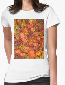 Abstract 0972 Womens Fitted T-Shirt