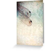 wings of dragonfly Greeting Card
