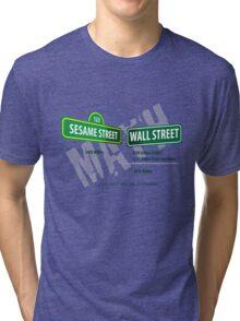 Sesame Street Math Tri-blend T-Shirt