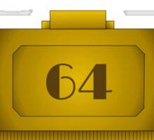 Room 64 Sticker