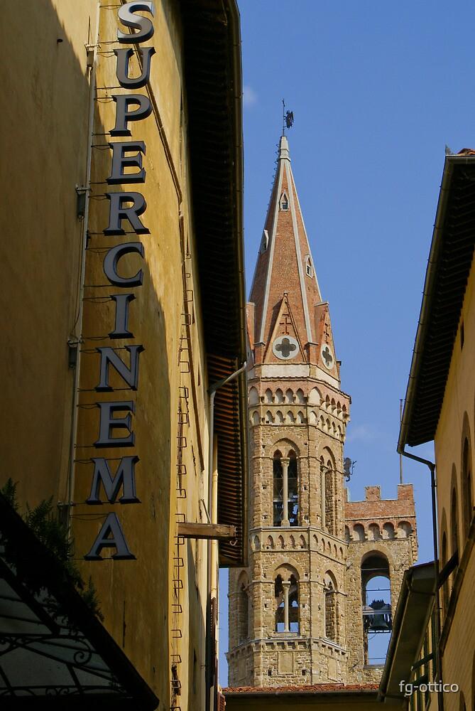 Hexagonal Church Bell Tower, Florence by fg-ottico