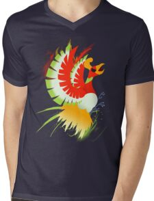 Ho-oh Mens V-Neck T-Shirt
