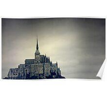 Le mont Saint-Michel Poster
