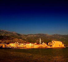The Citadel, Budva, Montenegro by Stephen Maxwell