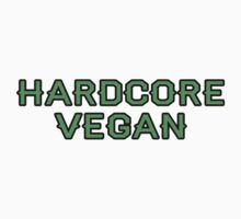 Hardcore Vegan Shirt by Jonathan Hughes