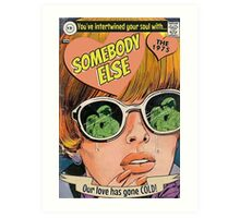 Somebody Else by The 1975 Comic Art Print