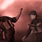 Combat by Steve  Woodman