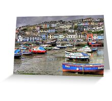 Brixham Harbour Greeting Card