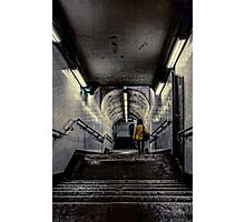 Down Under Street Level Photographic Print