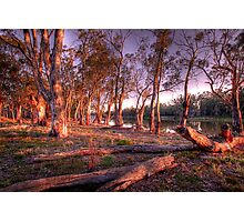 River Murray Sunset III - Renmark, South Australia Photographic Print