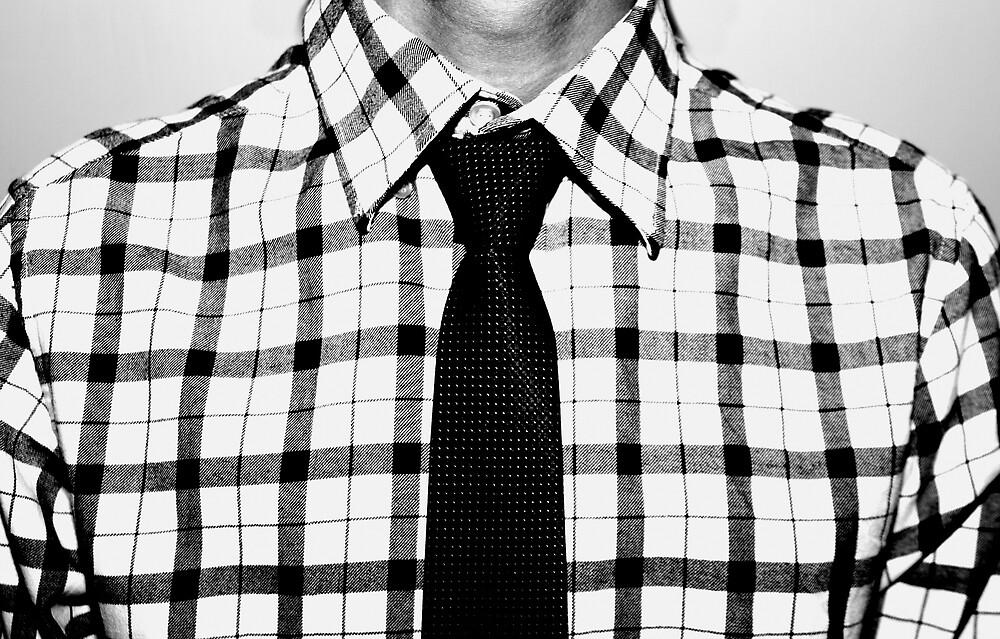 Polo & Tie by Bo Jong Kim