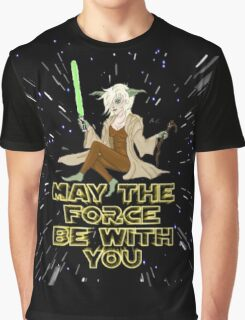 Jedi Mistress Yoda Graphic T-Shirt