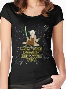 Jedi Mistress Yoda Women's Fitted Scoop T-Shirt