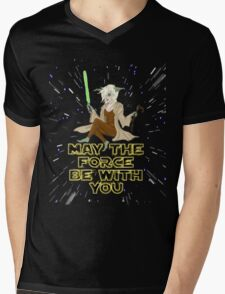 Jedi Mistress Yoda Mens V-Neck T-Shirt