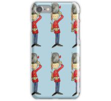 Saluting Guardsmen on Parade iPhone Case/Skin