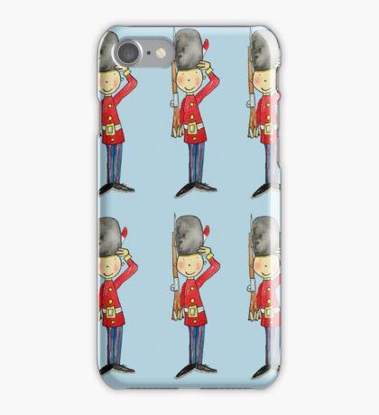 Saluting Guardsmen on Parade iPhone Case/Skin