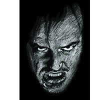 Johnny! The Shining! Photographic Print
