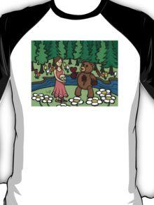 Teddy Bear And Bunny - Please Take It T-Shirt