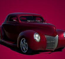 1939 Ford  Custom Chopped Coupe Hot Rod by TeeMack