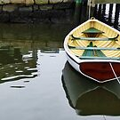 Row Boat; Mystic Seaport - New England by Bine