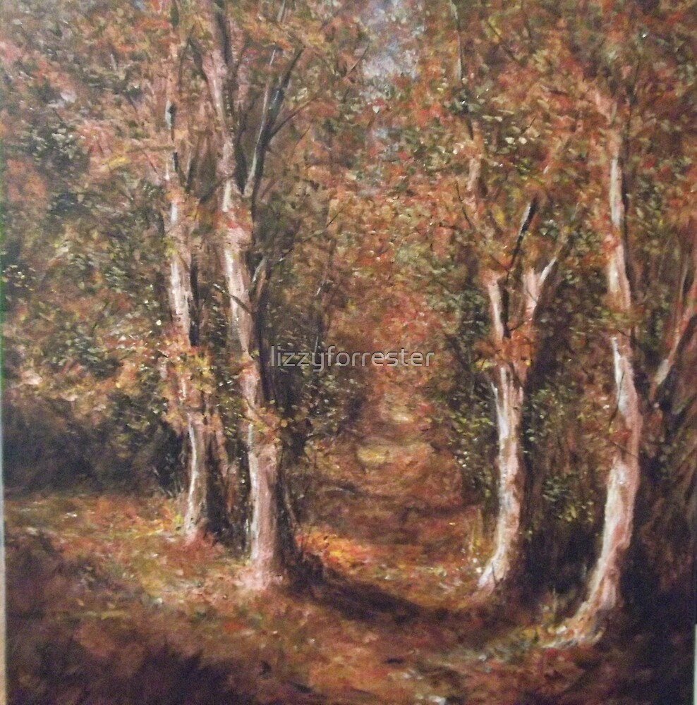 Autumn colours by lizzyforrester