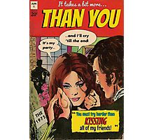 You by The 1975 Comic Photographic Print
