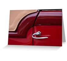 Handle With Curve Greeting Card