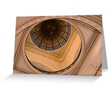 0079  The Dome in Queen Victoria Building Greeting Card