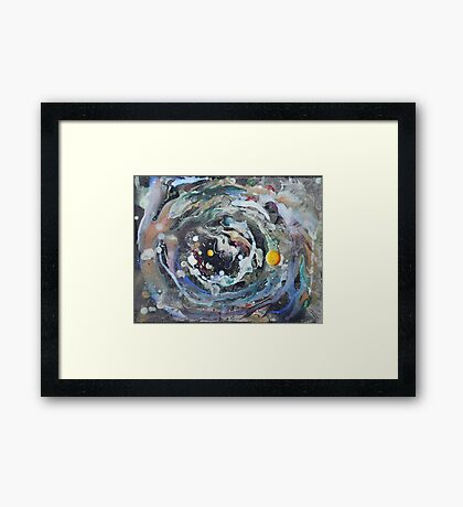 Psychedelic Space 1 Framed Print