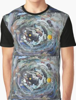 Psychedelic Space 1 Graphic T-Shirt