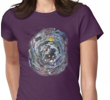 Psychedelic Space 1 Womens Fitted T-Shirt