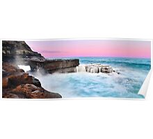 Sunset - Avoca Beach Poster