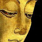 Buddha Watercolour & Ink Painting by joelwilluk