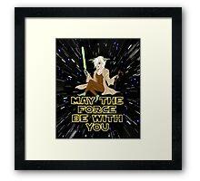 Jedi Mistress Yoda Framed Print