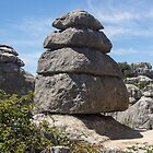 Postcard from El Torcal by Paul Weston