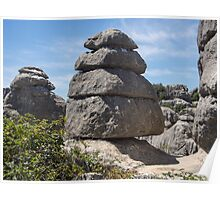 Postcard from El Torcal Poster