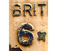 BRIT 6 Photographic Print