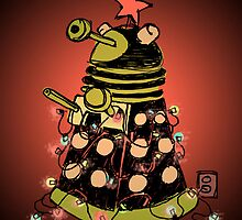Dalek Holiday Case by plasticflame