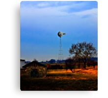 The Silence of Rural America Canvas Print