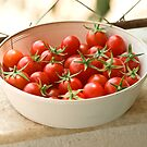 Freshly Picked Cherry Tomatoes  by Kuzeytac