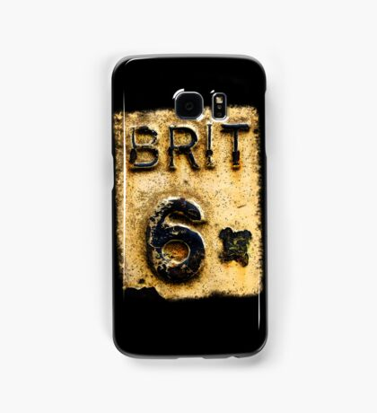 BRIT 6 Samsung Galaxy Case/Skin