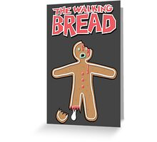 The Walking Dead GingerBread Man Zombie Greeting Card